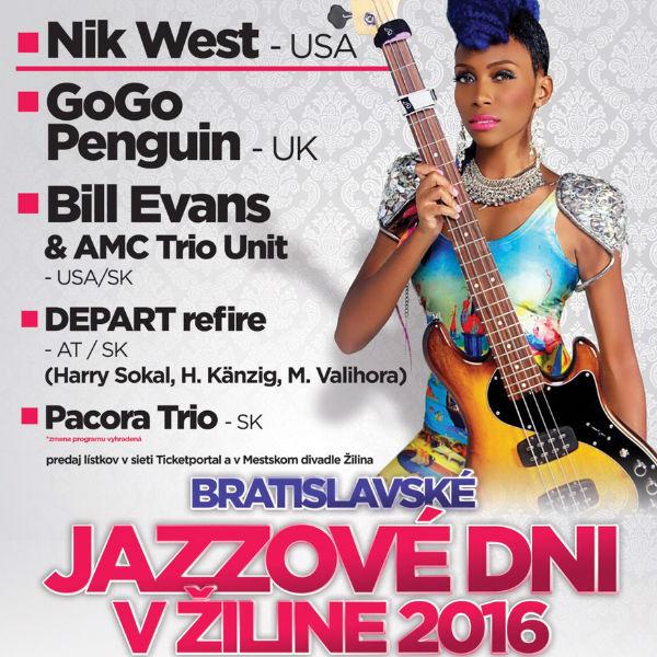 Bratislavské jazzové dni v Žiline