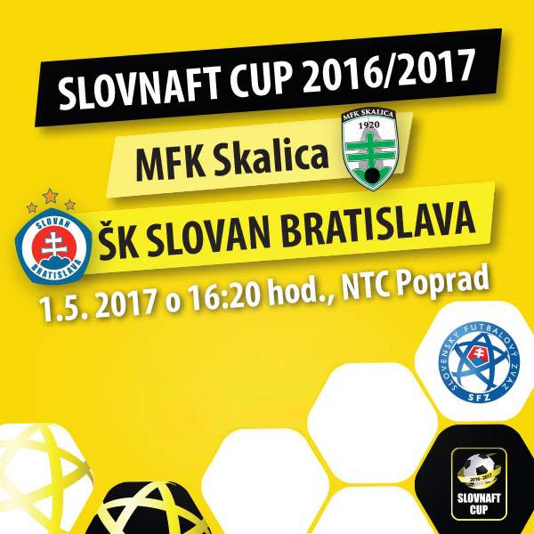 Finále Slovnaft Cup 2016/2017