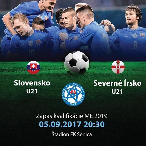 U21 Slovensko - U21 Severné Írsko