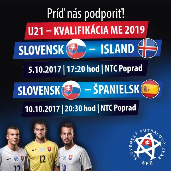 Kvalifikačné zápasy ME 2019 U-21