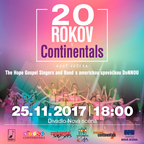 20 ROKOV s CONTINENTAL SINGERS