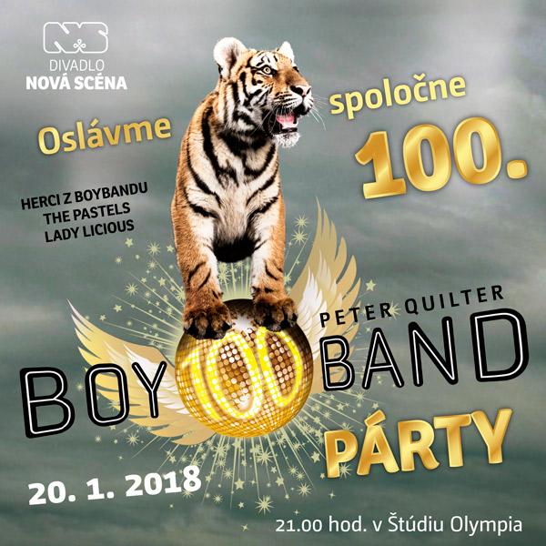 Boyband párty