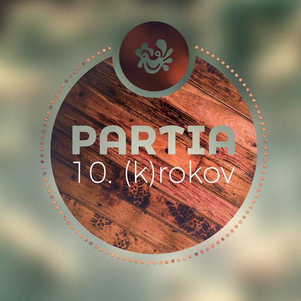 PARTIA - 10  (K)ROKOV