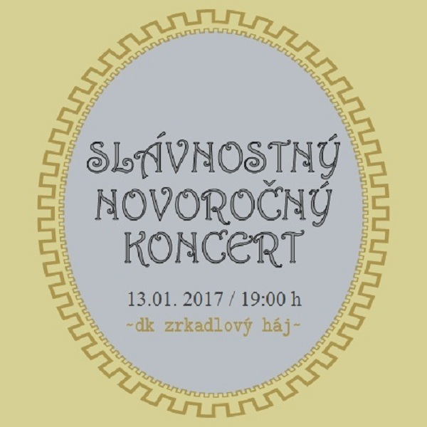 Novoročný  koncert  -  JÁN  AMBRÓZ