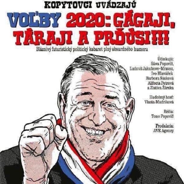 VOĽBY 2020: Gágaji, táraji a prďúsi!!!