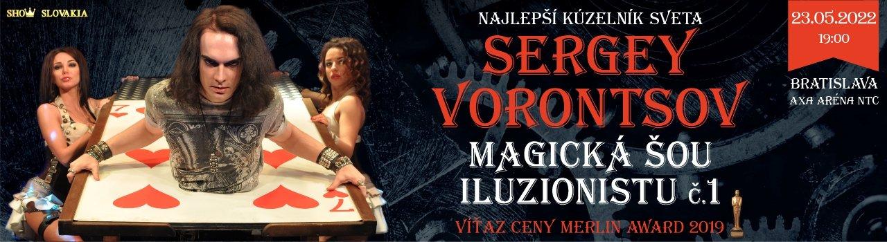SERGEY VORONCOV - MAGICKÁ SHOW