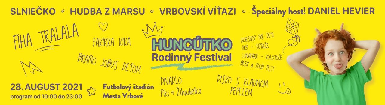 Rodinný festival: Huncútko