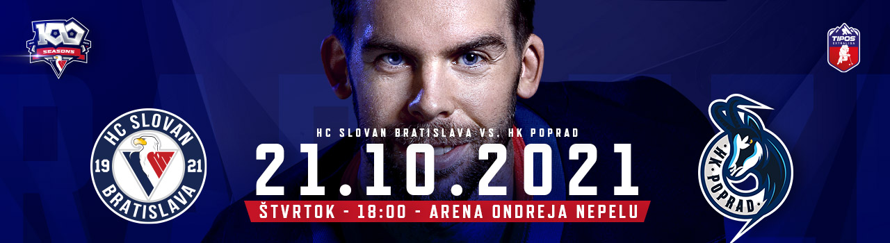 HC SLOVAN Bratislava – HK Popr